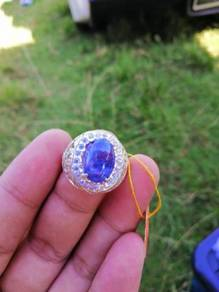 Cincin blue dumorterite