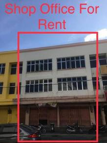 3 Storey Shop Office For Rent