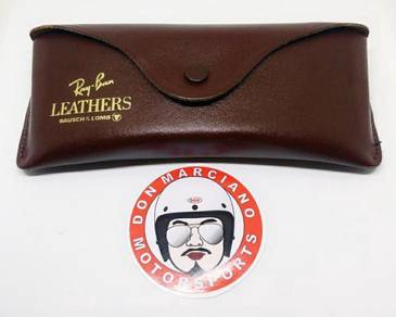 NOS Case Rayban Leather