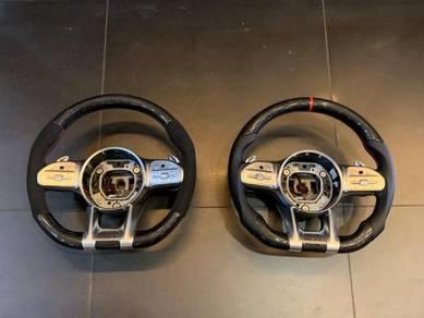 Mercedes Benz Carbon Fiber Steering 2019 Design