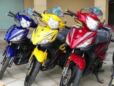 New SYM Sport Rider 125i Ready Full Loan