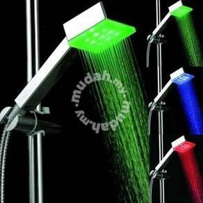 Romantic Colo LED Light Water Bathroom Shower Head
