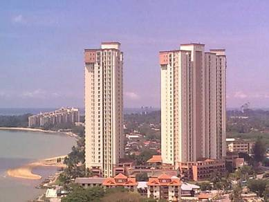 Klebang OCEAN PALM Luxury CONDO (3+1 room ) FREEHOLD-SEAVIEW