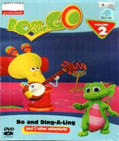 DVD ANIME Bo On The Go Bo And Ding-A-Ling Vol.2