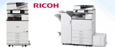 Mesin fotostat color ricoh MPC3502 copy print scan