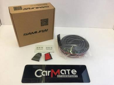 Samurai Rubber Spoiler Carbon Fiber Universal 1.5M