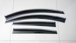 Honda Civic City chrome lining door visor