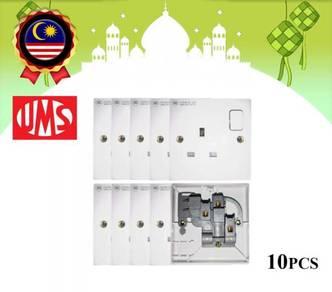 Ums 13A switched socket (10pcs)
