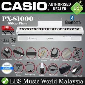 Casio PX-S1000 88 Keys Digital Piano White Package