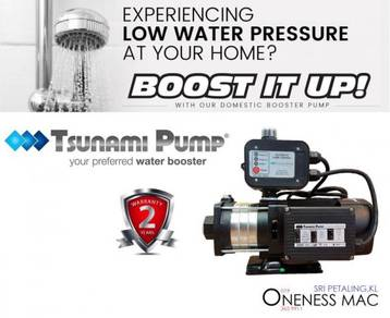 Tsunami Automatic Home Booster Water Pump CMH2-30K