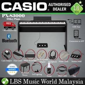 Casio PX-S3000 88 Keys Digital Piano Full Package