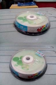 4.7Gb dvd-r 10pcs disc pack
