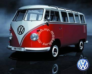 Poster VOLKSWAGEN KOMBI VW CAMPER
