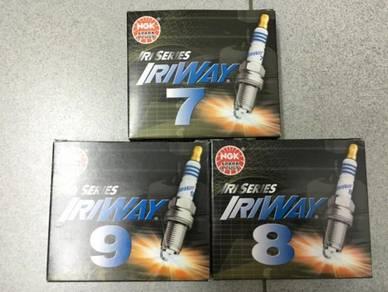 NGK Japan Iriway Iridium Racing Plugs 7, 8