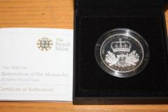 UK 5 Pounds Proof Coin 2010