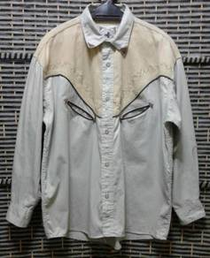 Vintage western shirt SMILE limited edition