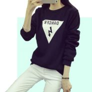 5595 DANGFR Velvet Sweater