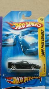 HotWheels Ferrari FXX Black 2008 First Editions