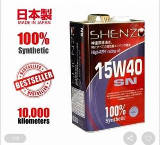 Shenzo oil fully synthetic racing oil