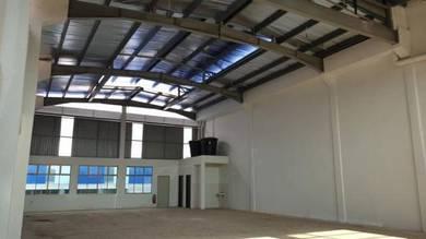 Tg Minyak Perdana Industrial 4000 sq ft Factory Warehouse-New & Bare