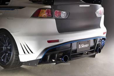 Mitsubishi lancer / inspira varis rear pp bumper