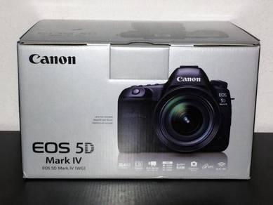 Canon 5D Mark IV DSLR Camera w/ EF 24-70mm f/2.8L
