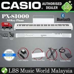 Casio PX-S1000 88 Keys Digital Piano White Basic