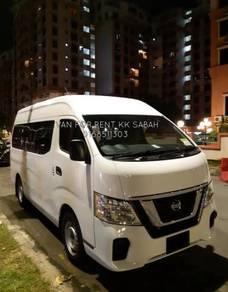 Sabah Rental Charter Van Nissan
