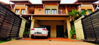 RENOVATED FREEHOLD   Teres SUPERLINK Tropika Residence Shah Alam LUAS