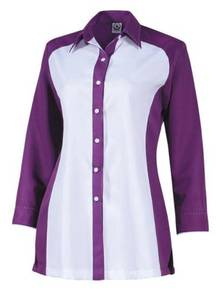 Corporate Uniform F1 Lengan Panjang FF6141 Purple