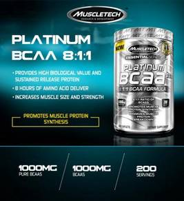 Muscletech platinum bcaa protein recover muscle