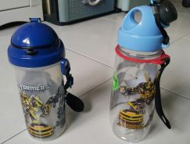 Original Transformer water tumbler bottle children