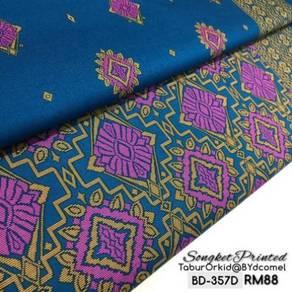 Kain Cotton Songket Printed BD-357D