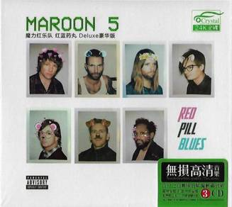IMPORTED CD Maroon 5 Red Pill Blues 3CD