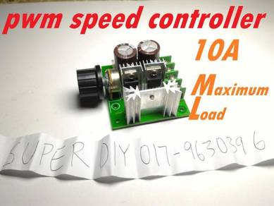 PWM speed motor controller 10A high power