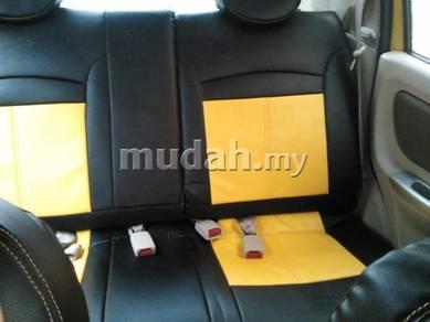 Wira satria waja semi leather seat cover seat