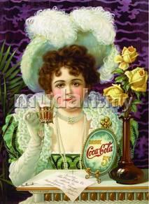 Poster COCA COLA COKE VINTAGE 6