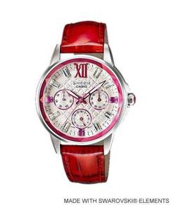Watch - Casio SHEEN SHE3029 RED - ORIGINAL