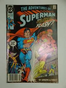 SUPERMAN. Adventures of Superman issue 463