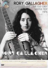 Rory Gallagher Old Grey Whistle Test 1976 DVD