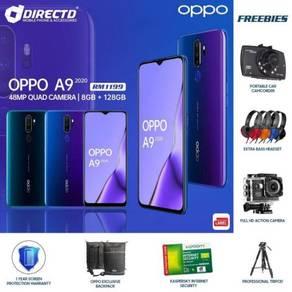 TERBARU OPPO A9 (2020) (8GB/128GB) + 7 Hadiah