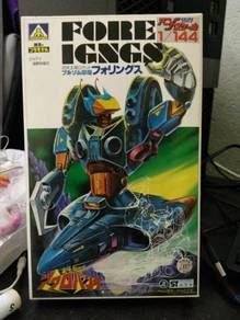 Vintage 80'S japan robot arcobunch FORE IGNGS