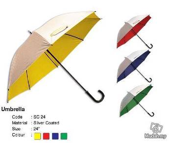 J type hanger Umbrella 24inch