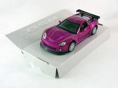 CHEVROLET CORVETTE C6-R (Shiny Metallic) model car