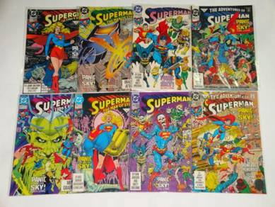SUPERMAN. Panic In The Sky. complete set