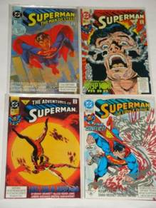 SUPERMAN. Revenge of the Krypton Man. complete set
