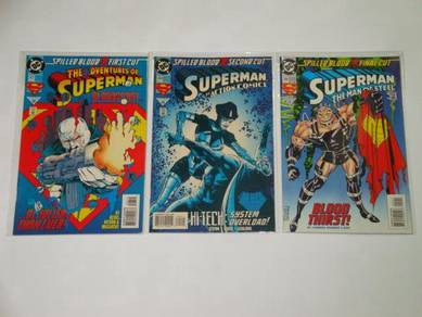 SUPERMAN. Spilled Blood. complete set