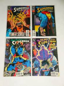 SUPERMAN. Power Surge. complete set