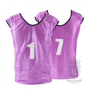 17RA Trident Training Bib Set - Purple (1-7)