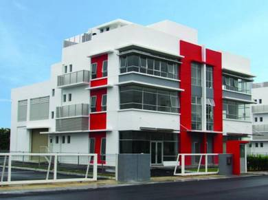 3 storey light industrial factory Autoville, Star Central, Cyberjaya